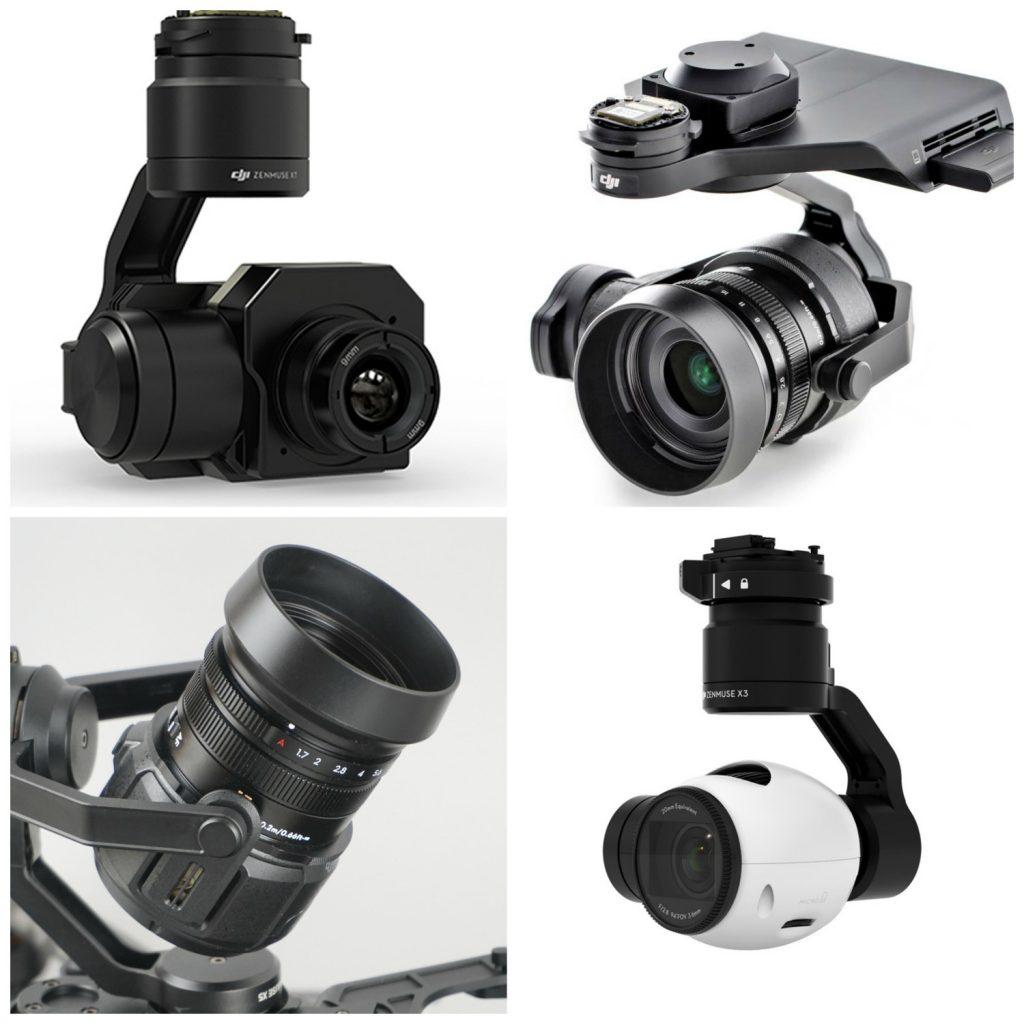 Оба беспилотника могут работать с камерами серии DJI Zenmuse