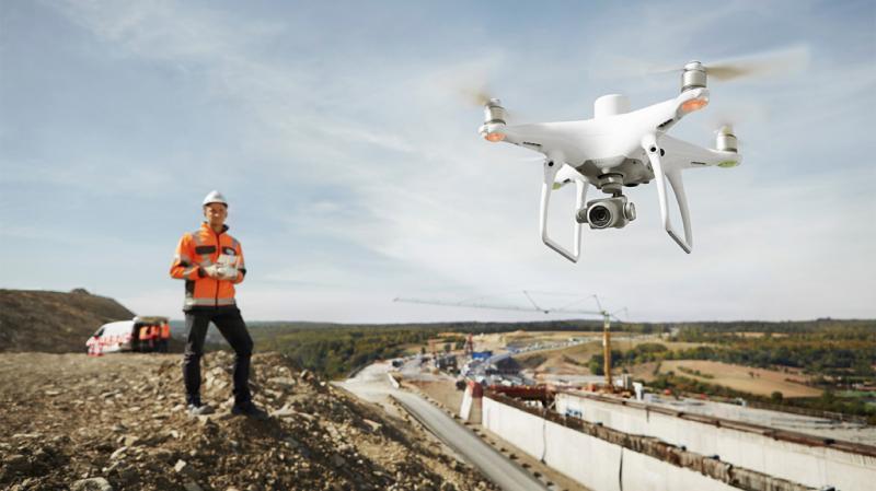 Летающие платформы и программное обеспечение DJI для геодезических исследований