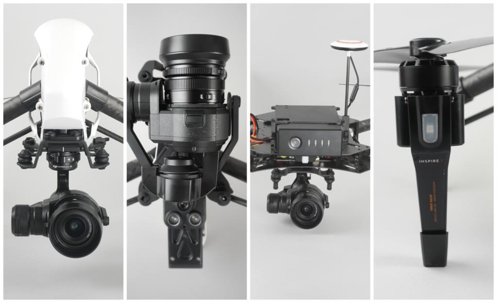 DJI Inspire 1 Pro и DJI Matrice 100 представляют отличный инструмент для съемки с воздуха и решения других важных задач