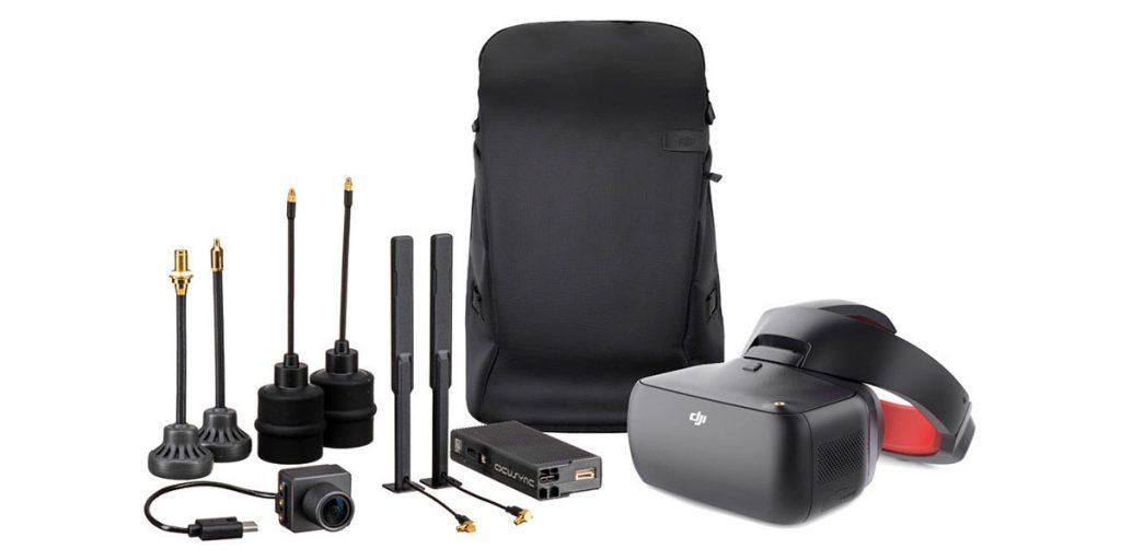 Комплект DJI Goggles RE c тремя типами антенн