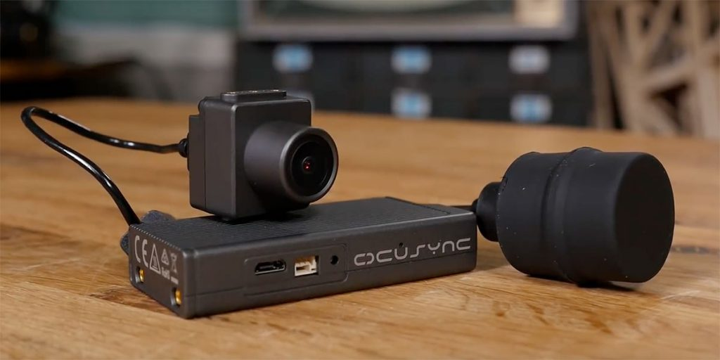Модуль DJI OcuSync для передачи видео и модуль камеры