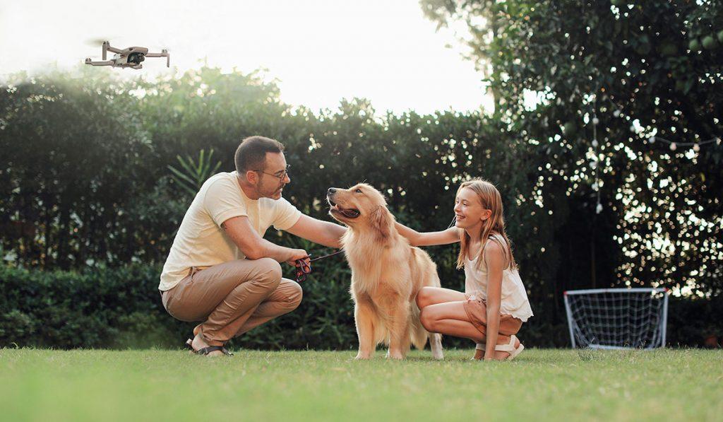 DJI Mavic Mini поможет запечатлеть самые трогательные моменты в семье