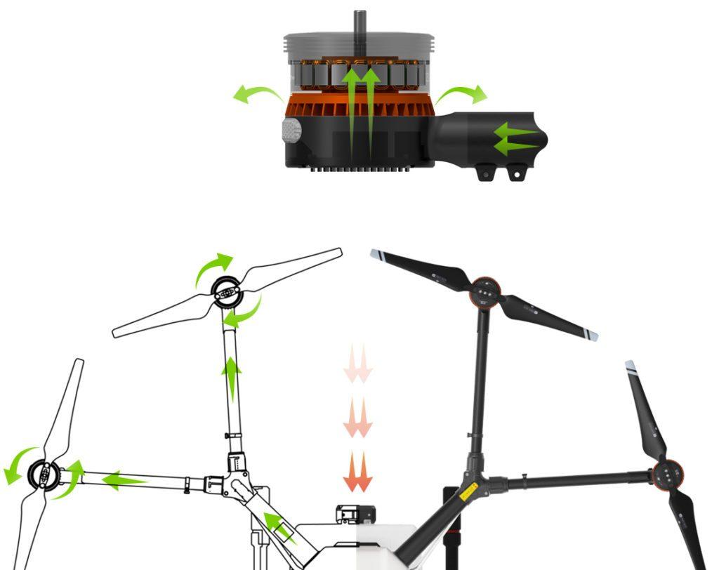 Система вентиляции DJI Agras MG-1