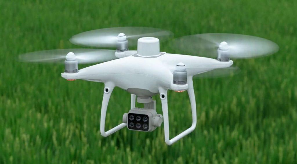 DJI Phantom 4 Multispectral - оптимальное решение для умного земледелия