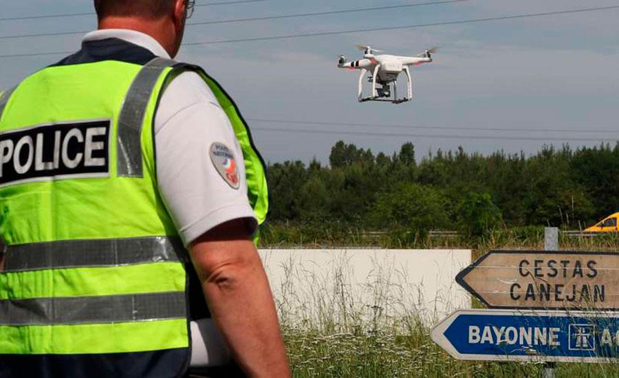 Другая сторона проблемы: дроны DJI помогают французской дорожной полиции поддерживать безопасность на дорогах страны