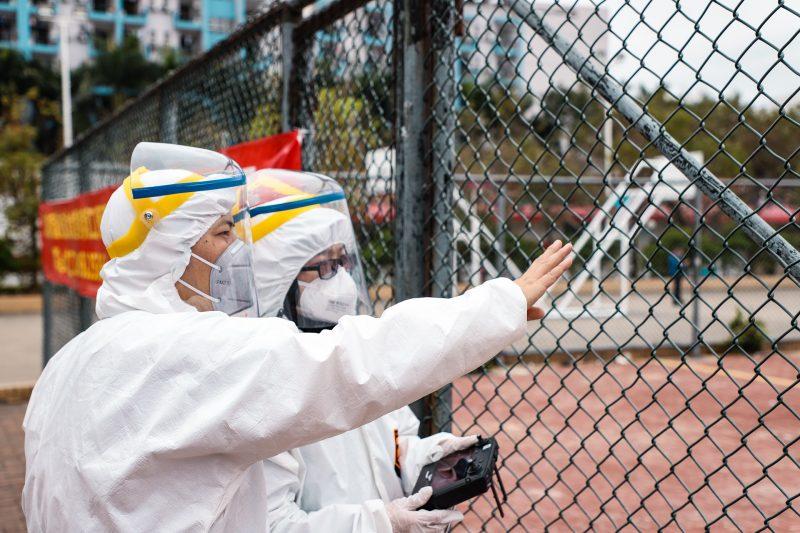 DJI помогает бороться с эпидемией коронавируса