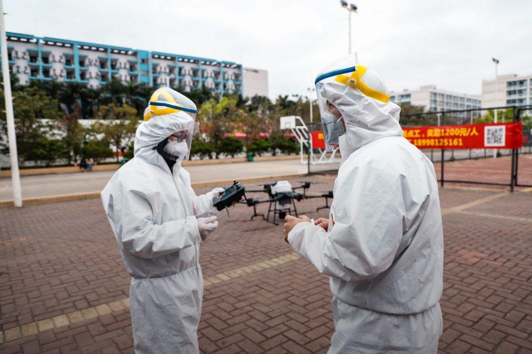 Дроны DJI помогают в борьбе с китайским коронавирусом