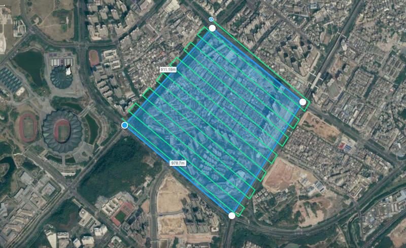 Создание фотограмметрии с помощью дрона - Скан работы специальной программы