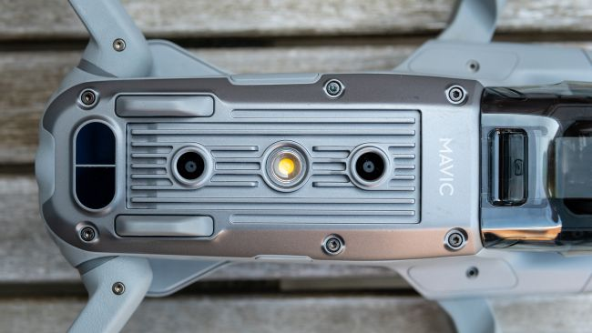 Нижние датчики и вспомогательная подсветка