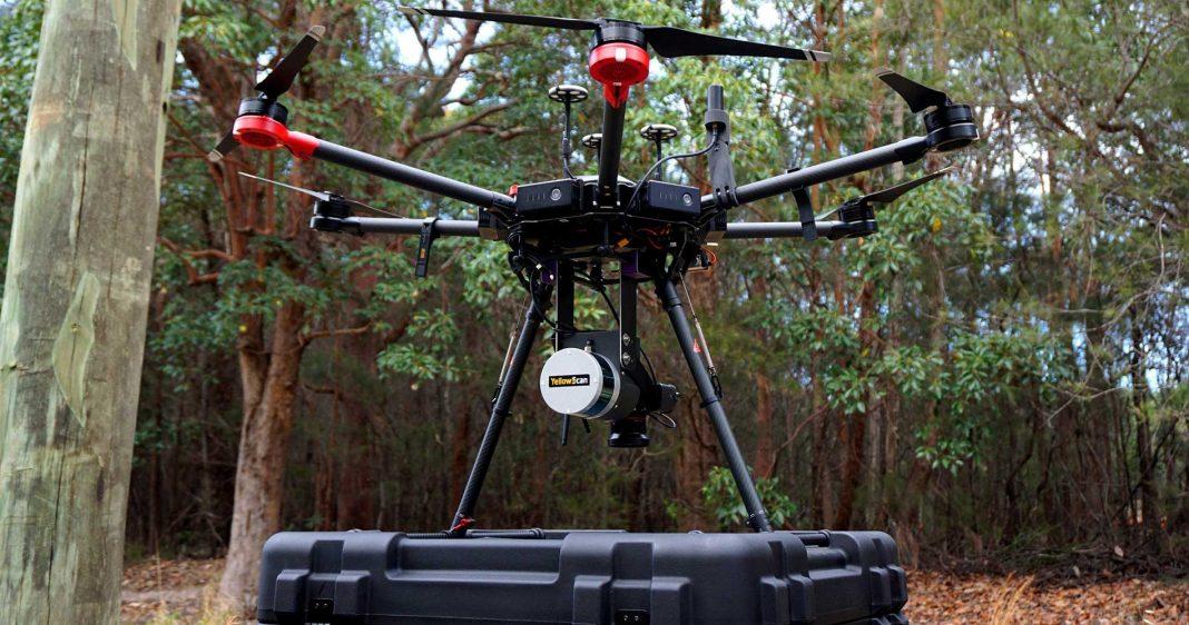 Как использовать беспилотные платформы, оснащенные LIDAR?
