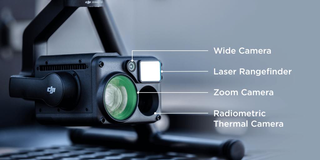 Гибридная промышленная камера Zenmuse H20T.