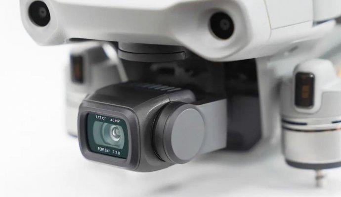 Итоговый результат - подвес и камера DJI Mavic Air 2