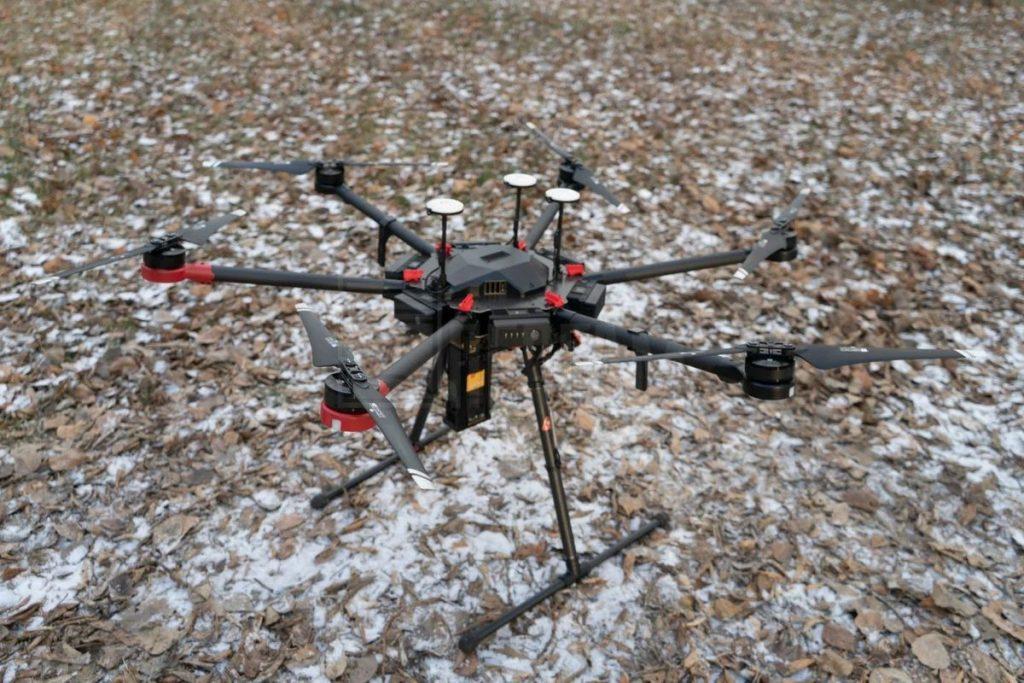 Использование дронов в нефтегазовой промышленности