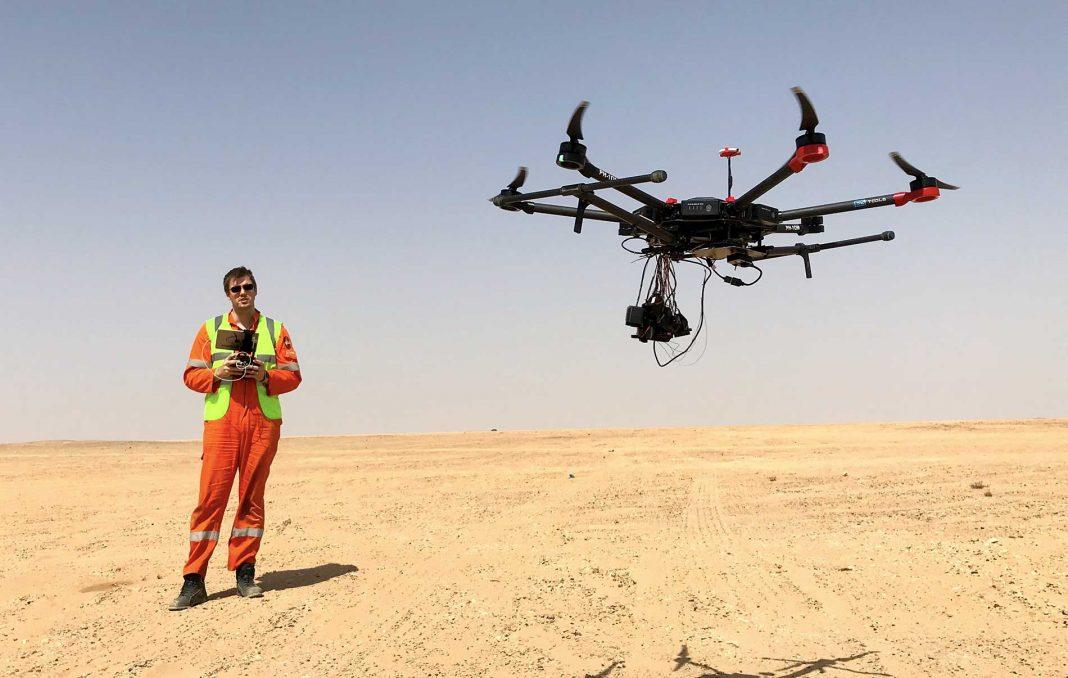 Применение дронов в нефтегазовой отрасли