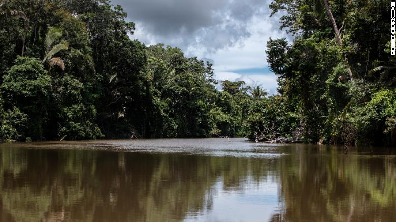 Река Жамари - основной район проживания индейцев Уру-Эу-Уау-Уау
