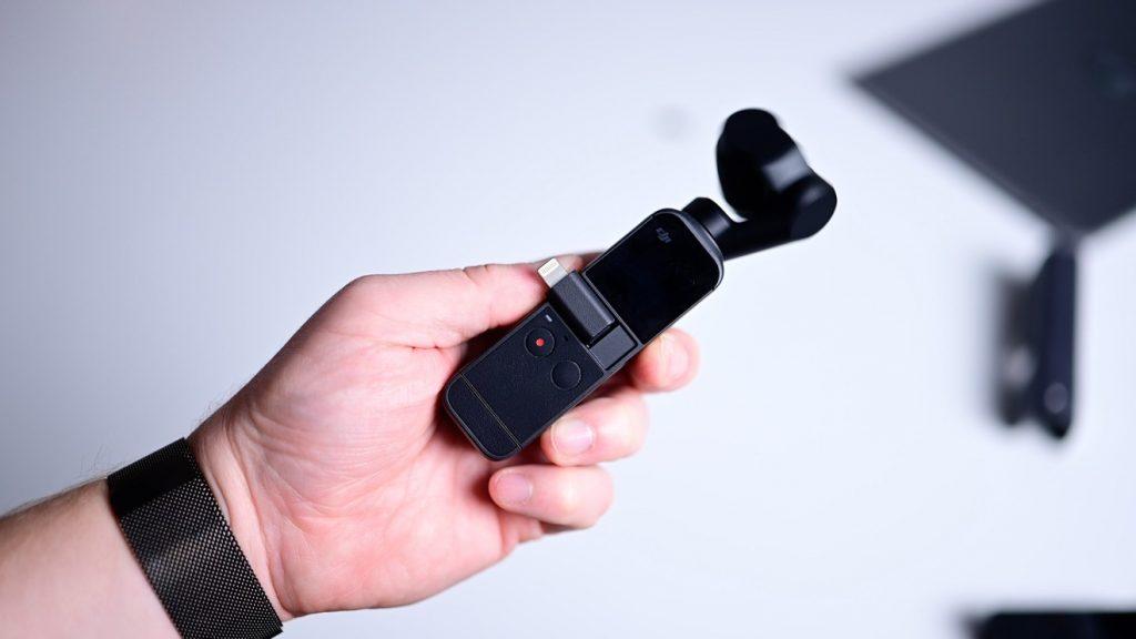 DJI Pocket 2 с разъемом Lightning