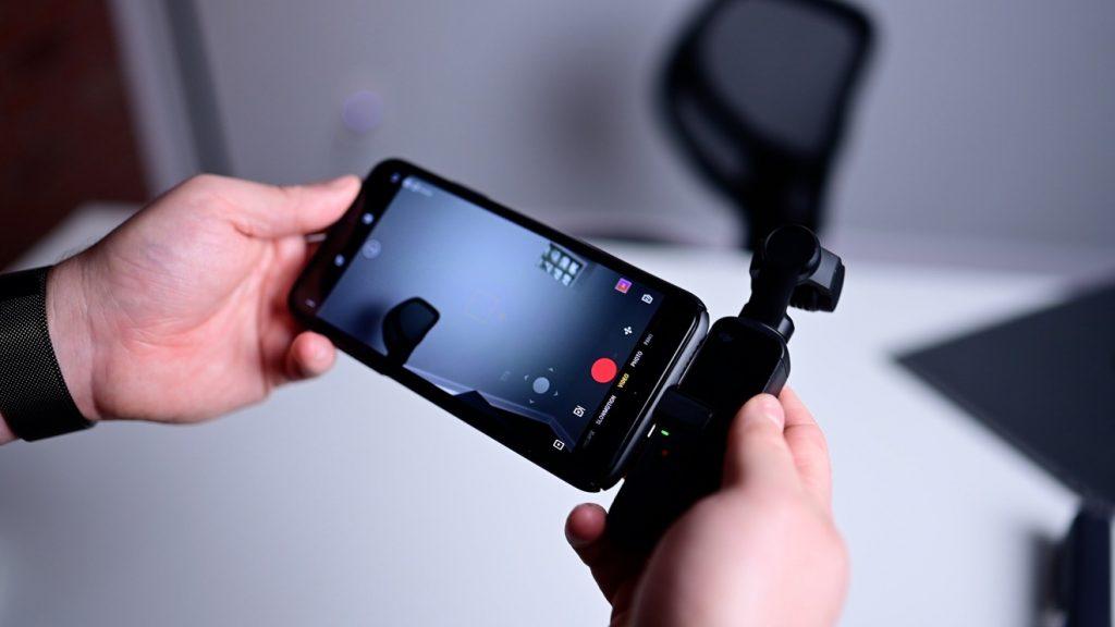 Подключение iPhone к DJI Pocket 2