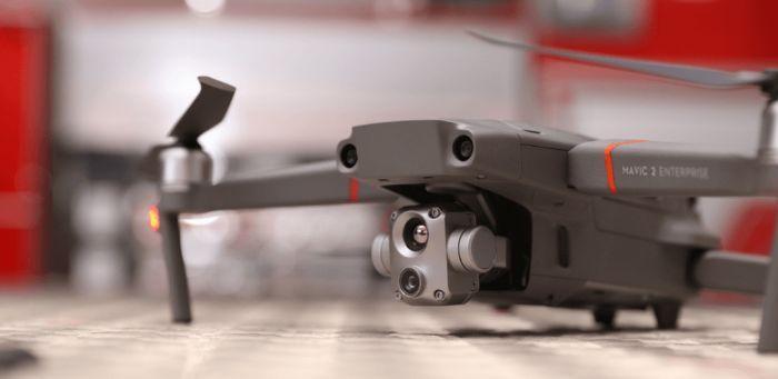 Двойная -визуальная и тепловизионная - камера DJI Mavic 2 EA