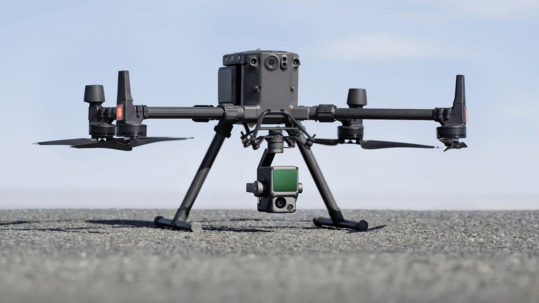 Zenmuse L1 - гибридную съемочная система с LIDAR