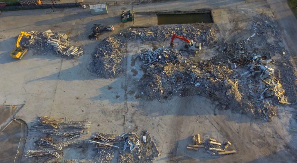Беспилотные технологии для управления мусорными полигонами за рубежом