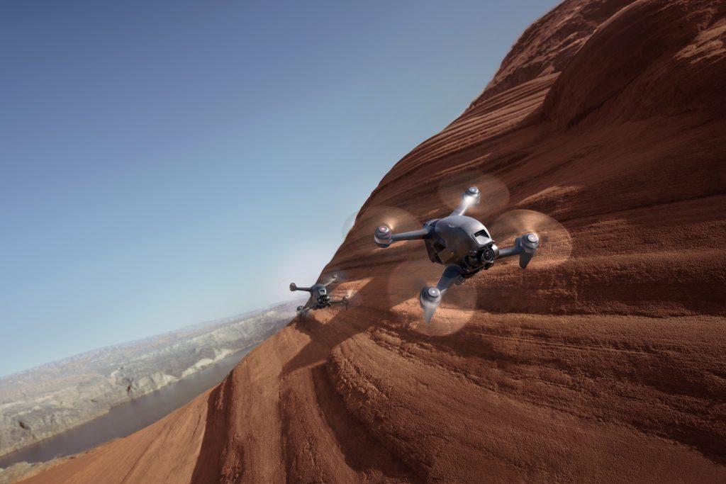 Встречайте: новый гоночный дрон DJI FPV
