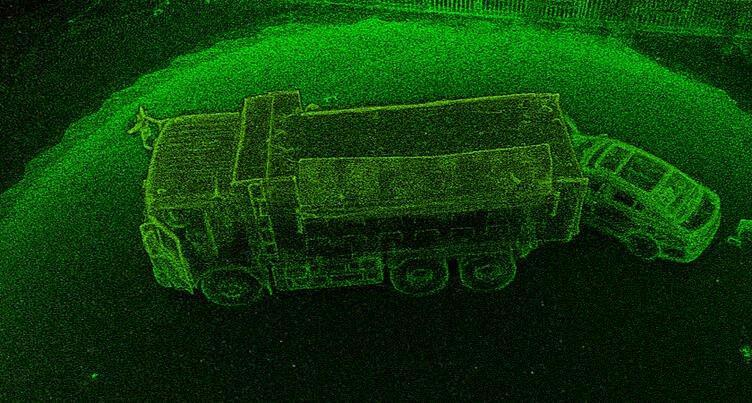 Реконструкция ДТП с помощью LiDAR воздушного базирования