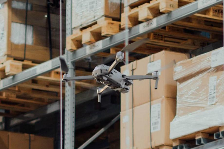 Как дроны меняют практику инвентаризации складов