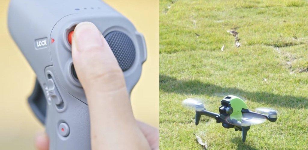Как пользоваться джойстиком DJI Motion Controller для дрона DJI FPV