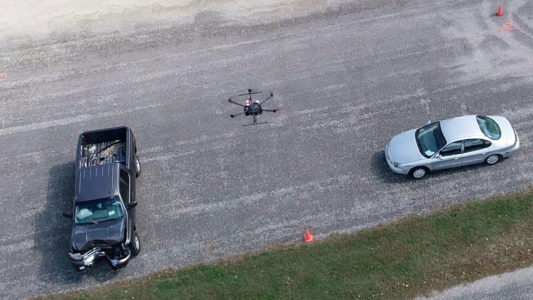 Применение дронов для расследования и реконструкции дорожно-транспортных происшествий