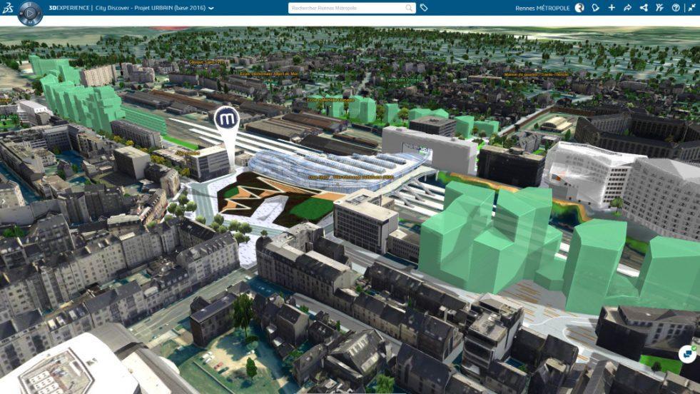 Пример использования цифровых двойников в городском планировании