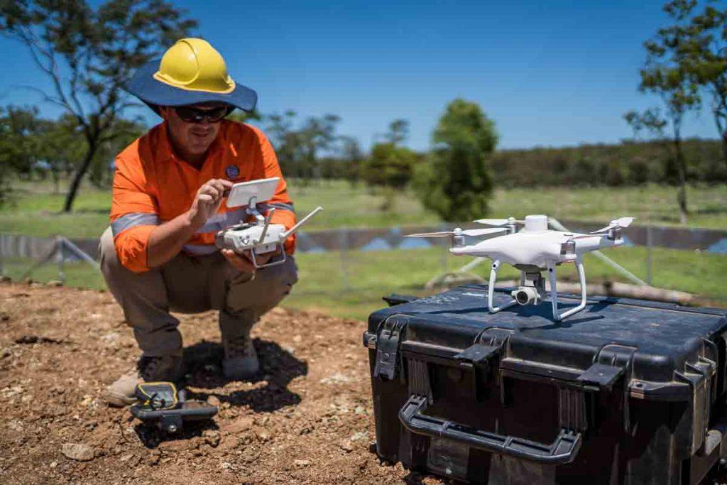 Беспилотные технологии и традиционные методы геодезического исследования
