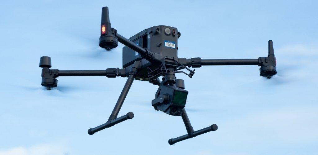 DJI Matrice 300 RTK с камерой Zenmuse L1, оснащенной модулем Livox LiDAR